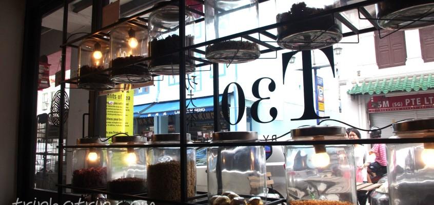 チャイナタウンで中国茶
