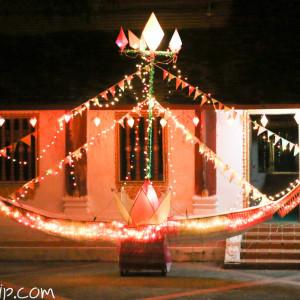 船の形をした灯篭