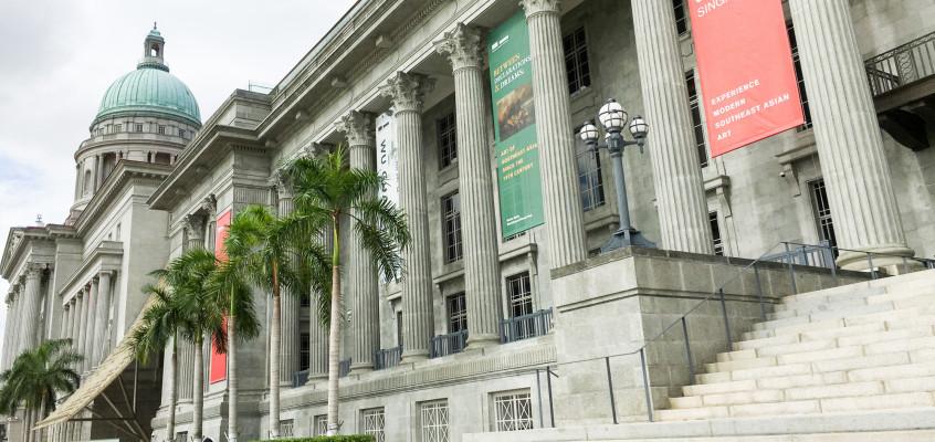 ナショナル ギャラリー シンガポールの楽しみ方