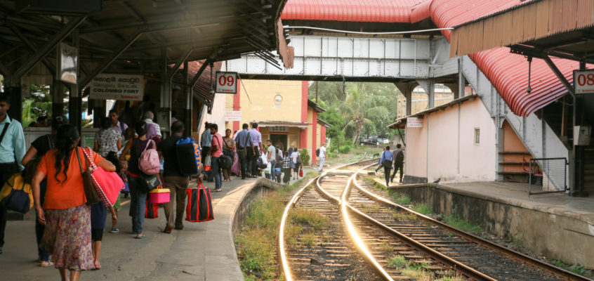 スリランカで鉄道に乗る スリランカ旅行記6